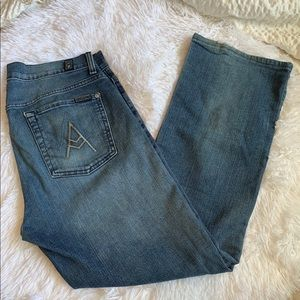 7 for All Mankind 'A' Pkt Bootcut Jeans Size 30